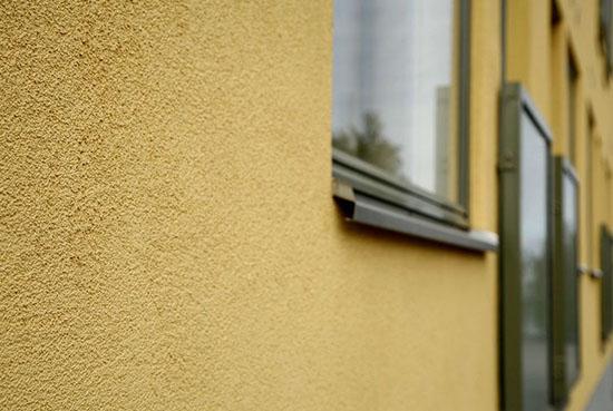 Особенности фасадной фактурной краски