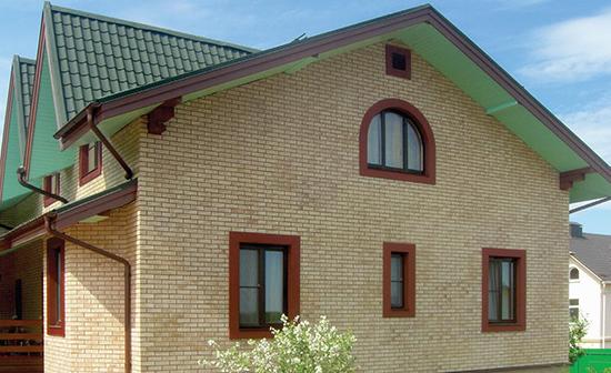 Особенности клинкерных панелей для фасада дома