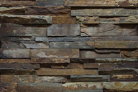 Облицовка фасада дома натуральным камнем