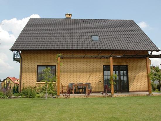 Желтый кирпич облицовочный: из чего производят, стоимость, примеры проектов домов