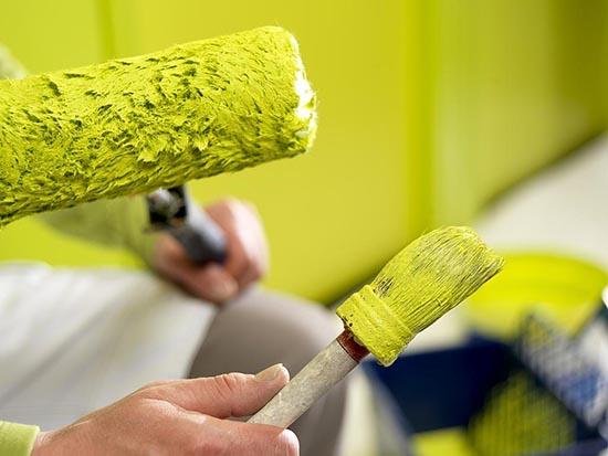 Применение и особенности краски акриловой для наружных работ