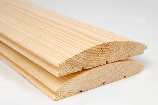 Блок-хаус из сосны: особенности и уход