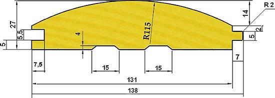 Размеры блок хауса разных видов