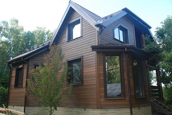 Отделка фасада дома из профилированного бруса – привлекательный внешний вид и дополнительное утепление