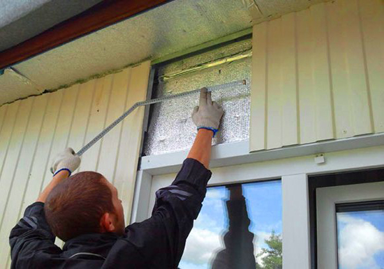 Обшивка стен профнастилом: пошаговая инструкция