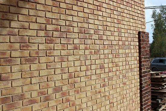 Облицовка кирпичом Terca – добротные фасады, проверенные временем