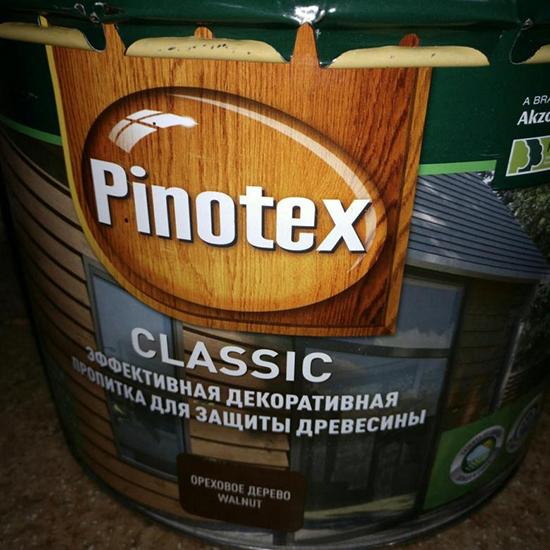 Обзор антисептика Пинотекс Классик