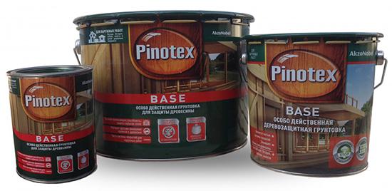 Pinotex base: сфера применения защитного средства