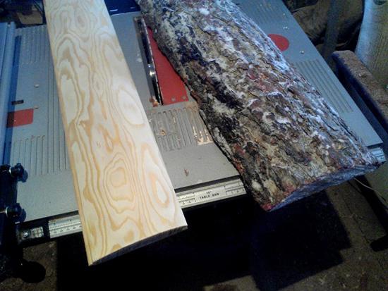 Блок хаус: производство своими руками