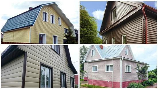 Какой сайдинг лучше подходит деревянному дому: виниловый или акриловый
