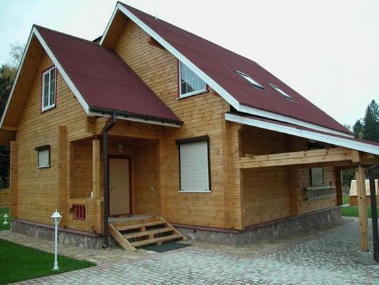 Сайдинг под брус – отличное решение для отделки фасада