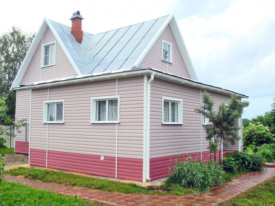 Цвета сайдинга – как раскрасить дом  красиво