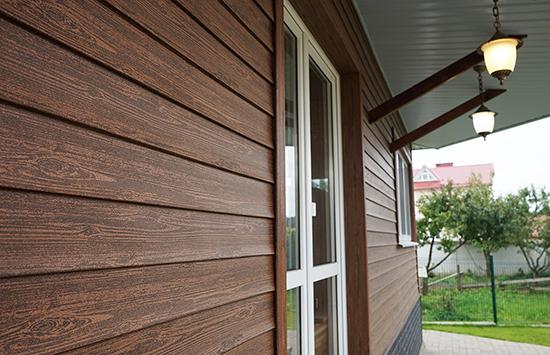 Сайдинг с имитацией дерева – возможность создать неповторимый дизайнерский стиль собственного дома!