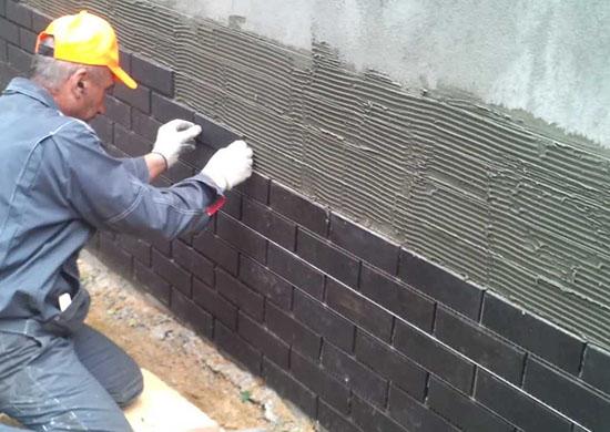 Отделка фундамента и наружных стен дома ЦСП панелями для фасадов