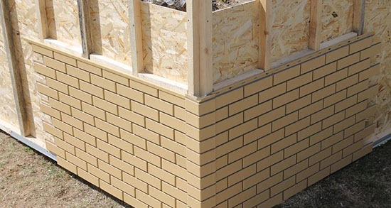 Основные виды и особенности установки панелей фасадных для наружной отделки под кирпич