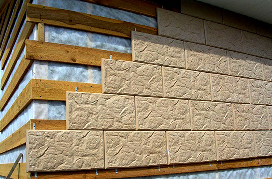 Декоративны панели: современный способ отделки наружных стен здания