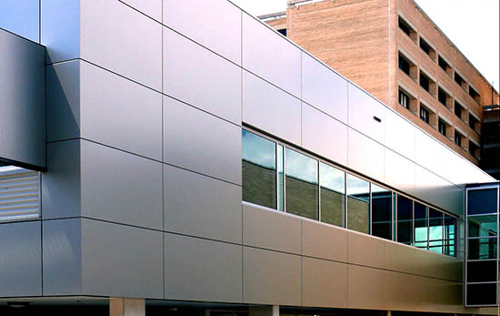 Особенности вентилируемых фасадов из композитных панелей