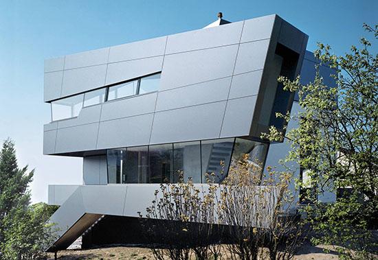 Алюкобонд – алюминиевые композитные панели как материал для фасада