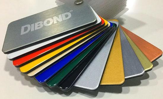 Алюминиевые панели Dibond: особенности, параметры и достоинства