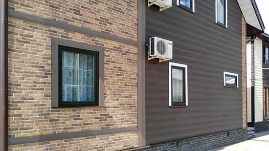 Выбрав панели из бетона, вам не придется ухаживать за фасадом десятилетия