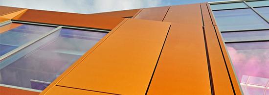 Ассортимент, цветовые возможности и применение композитных панелей Голдстар