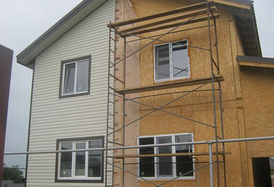 Способы и этапы наружной отделки домов из СИП панелей