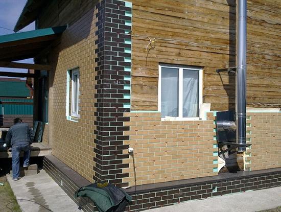 Применение термопанелей для обшивки фасадов деревянных домов