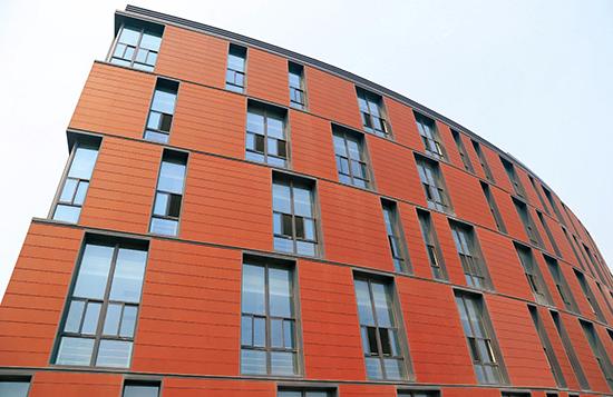 Особенности терракотовых панелей для фасада