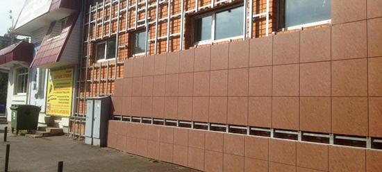 Преимущества гранитного вентилируемого фасада