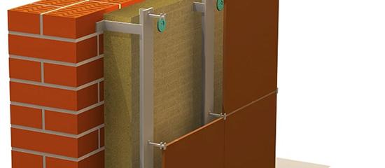 Вентилируемый фасад из минваты – просто и безопасно