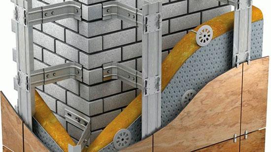 Особенности подсистем для вентилируемого фасада