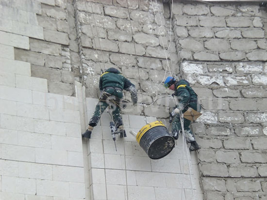 Средняя цена демонтажных работ для вентфасадов