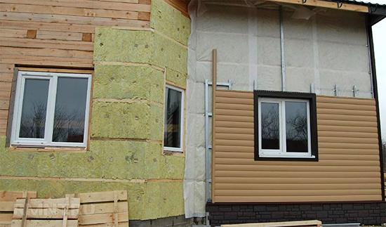 Плюсы и этапы создания вентфасада для дома из дерева