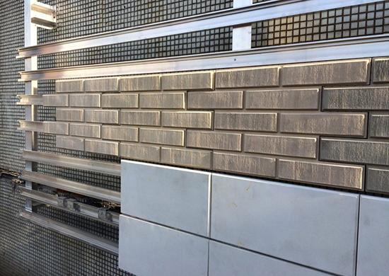 Вентилируемый фасад: разновидности панелей, установка