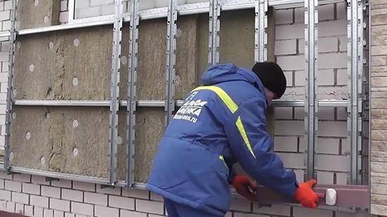 Надежная и энергоэффективная система запатентованного навесного вентилируемого фасада сканрок