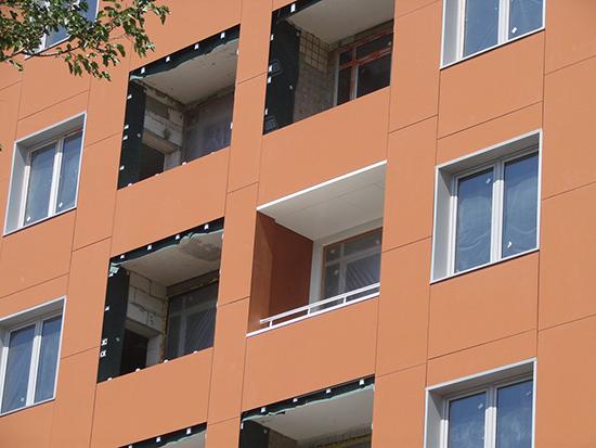 Фиброцементные плиты для вентилируемых фасадов