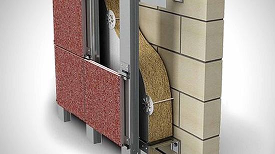Особенности и преимущества вентилируемых фасадов ЗИАС