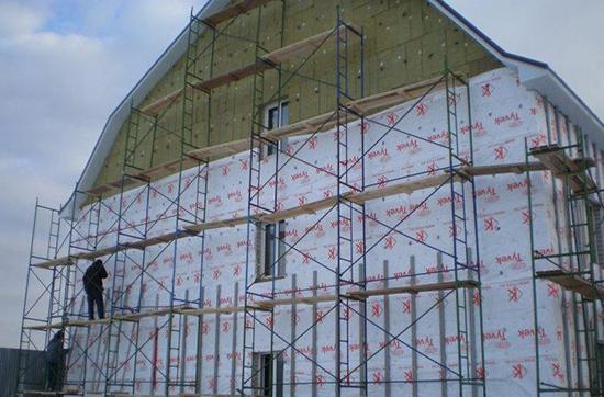 Ветрозащитные мембраны для вентилируемых фасадов: характеристики, особенности монтажа