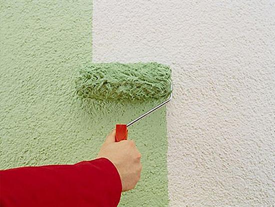 Правильная покраска фасада по шпаклевке
