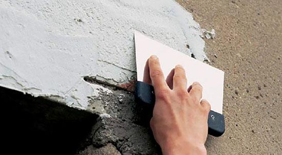 Особенности нанесения фасадной шпаклевки