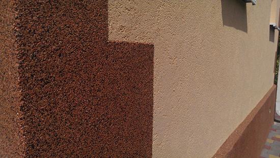 Декоративная штукатурка из минералов для вашего дома