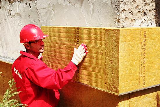 Описание системы мокрых фасадов от Rockwool