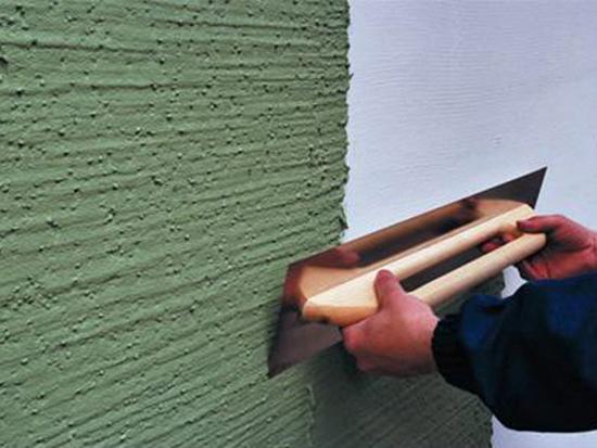 Особенности нанесения штукатурки на фасад