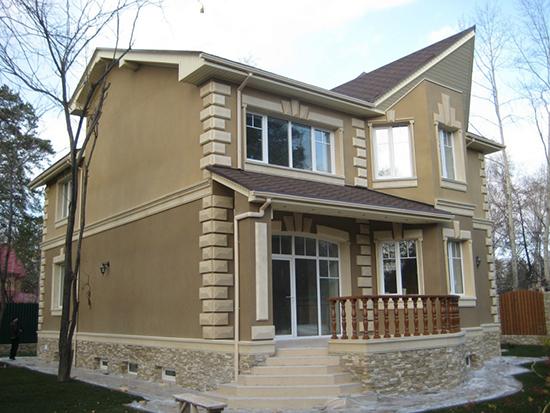 Полимерная штукатурка – украшение вашего фасада