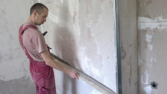 Отсутствие маяков при обработке стен: подходящие решения
