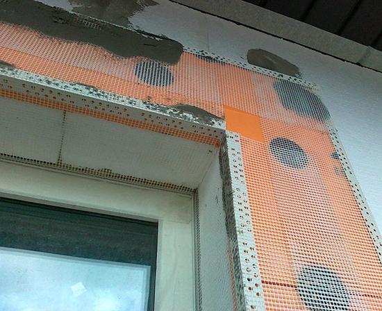 Фасадная штукатурка по пеноплексу