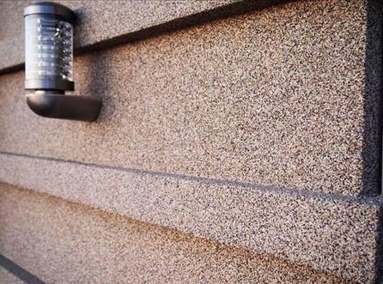 Виды мозаичной штукатурки для фасада и способ ее использования
