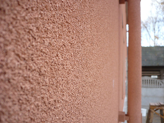 Правила монтажа пробковой штукатурки на фасаде