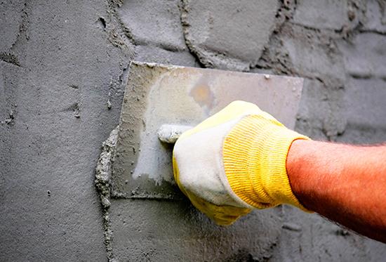 Как оштукатурить фасад из бетона
