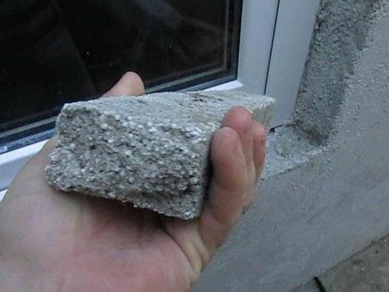 Перлитовая штукатурка для фасадных работ